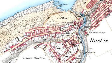 Buckie OS map