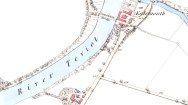 1859 map OS - Kalemouth Susepnesin Bridge 1