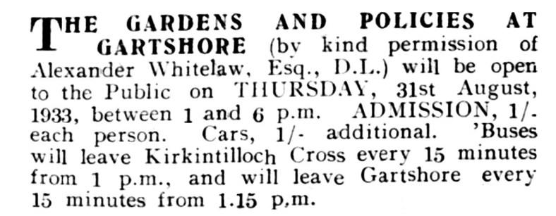 1933 Gartshore Gardens