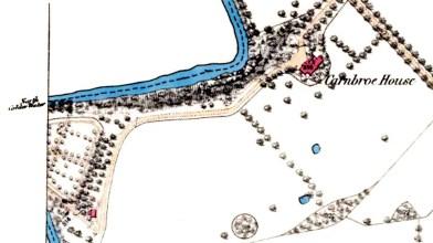 Carnbroe House OS map 1860
