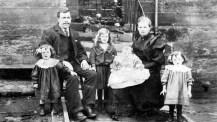 Thomas McCulloch Adams and family at Carnbroe Gardens