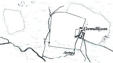 Cormilligan OS map 1859