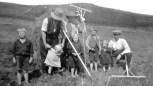 Haymaking at Cormilligan 1923