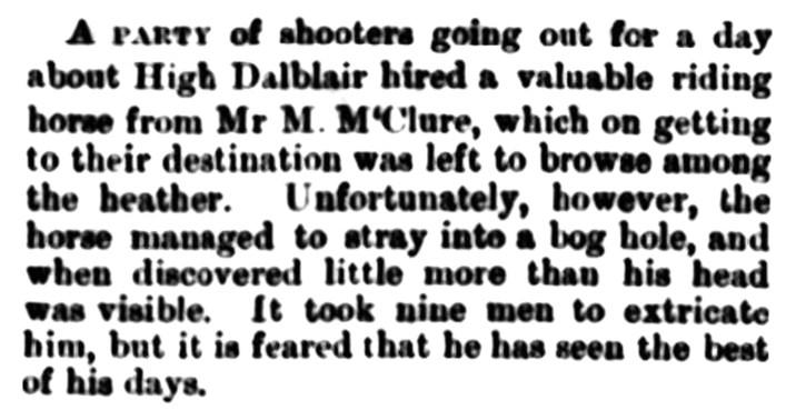 High Dalblair - August 1886