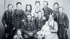 McCaw Family - Thornhill studio c1873