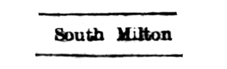 South Milton, Logie Coldstone