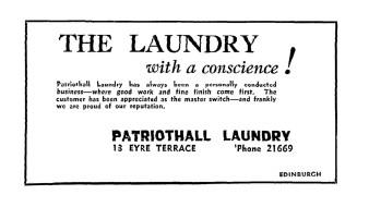 May 1945 Patriothall Laundry
