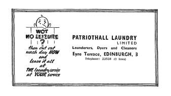 Nov 1948 Patriothall Laundry