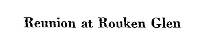 Reunion at Rouken Glen