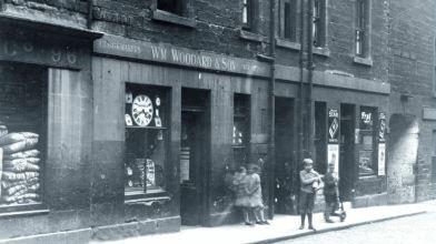 98 Pleasance, Edinburgh, William Woodward and Son, clockmakers