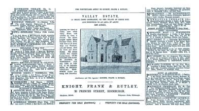 June 1929 Vallay House