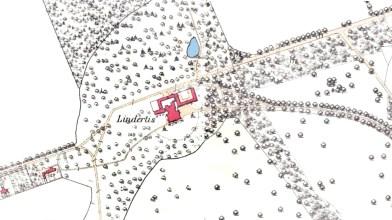 Lindertis - 1st OS map