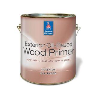Sherwin Williams Exterior Oil-based Wood Primer алкидный грунт для дерева