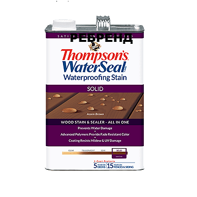 Thompson's WaterSeal Deck&House Solid Oil Stain
