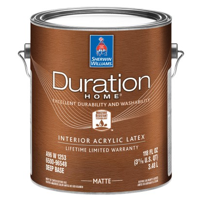 Sherwin-Williams Duration Home Interior Acrylic Latex Matte