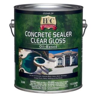 H&C Concrete Sealer Clear Gloss