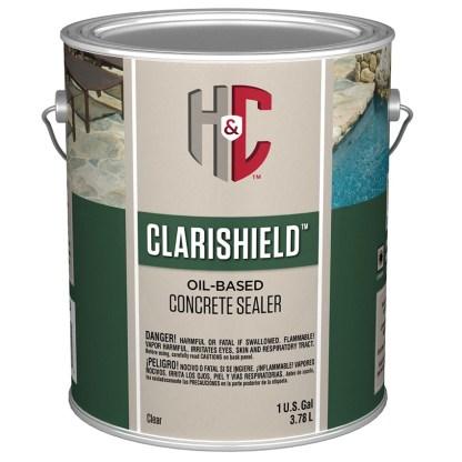 H&C Concrete Sealer Clear Gloss лак для бетона и камня
