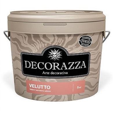 Декоративная краска Decorazza Velluto