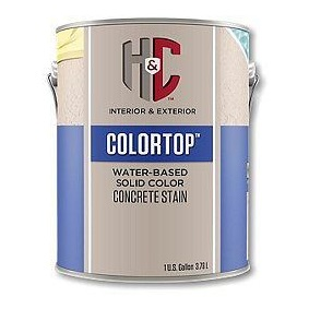 H&C Concrete Stain Solid Color лак для бетона