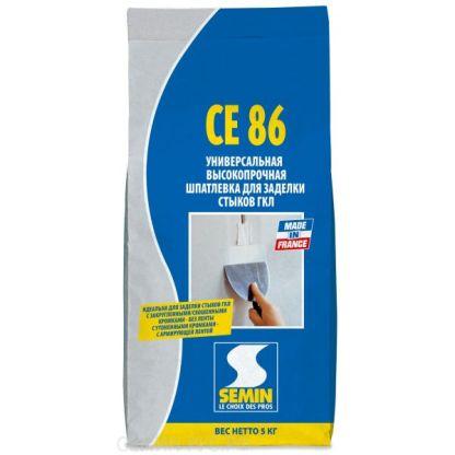 Semin CE 86 шпатлевка для гипсокартона