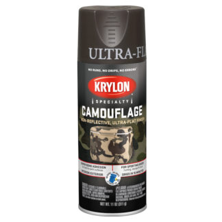 Krylon Camouflage Brown 4292