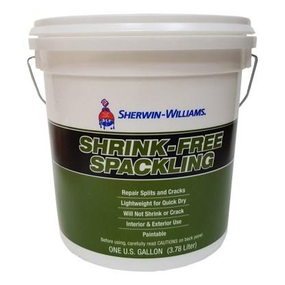 Sherwin-Williams Shrink Free Spackling безусадочная шпатлевка