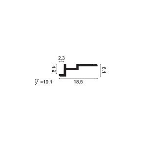 Карниз из полиуретана Orac Decor C396 STEPS