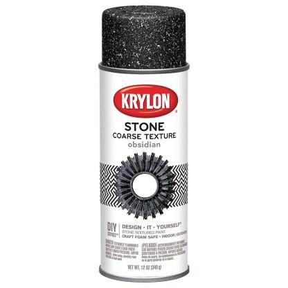 Krylon Coarse Stone Obsidian 18212 аэрозольная фактурная краска
