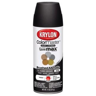 Krylon Colormaster Brushed Metallic Oil Rubbed Bronze 51254 аэрозольная краска-грунт