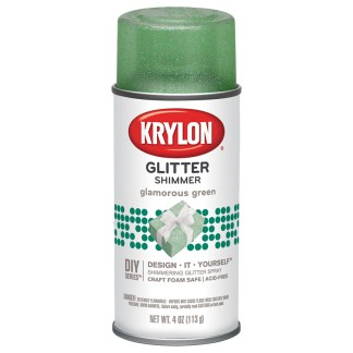 Krylon Glitter Shimmer Glamorous Green 404