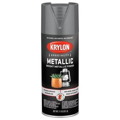 Krylon Metallic Dull Aluminum 1403 краска в баллончике металлик