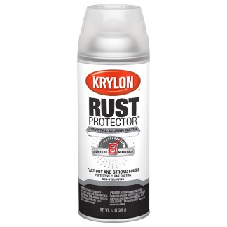 Krylon Rust Protector Satin Crystal Clear 69033