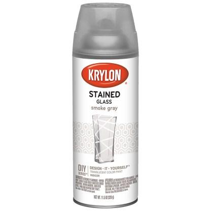 Krylon Stained Glass Smoke Gray 9037