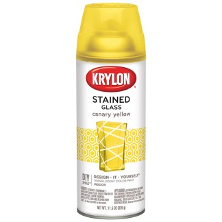 Krylon StainedGlass Canary Yellow 9035