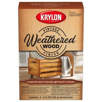 Krylon Vintage Finish Weathered Wood_K0843007