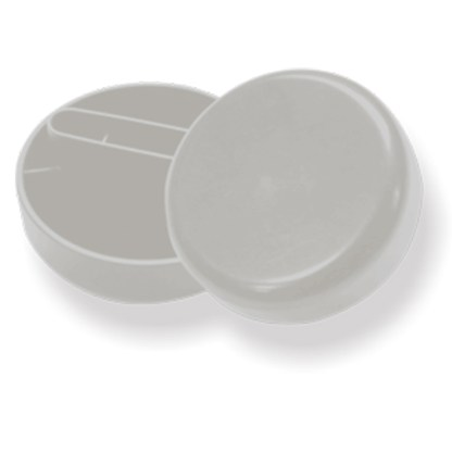 Мини-кельма пластиковая круглая STM DECOR RSL08D