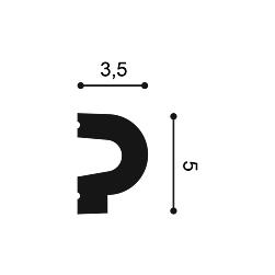 Молдинг из полиуретана Orac Decor P8060