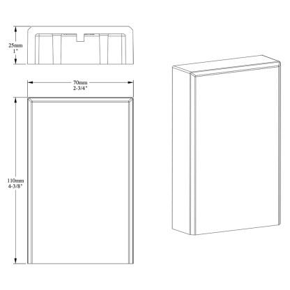Дверной декор из полиуретана Orac Decor D340