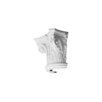 Полукапитель колонны из дюрополимера Orac Decor K1121