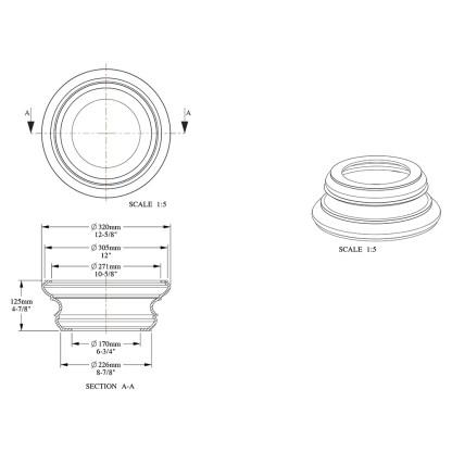 База колонны Orac Decor K1152
