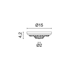 Потолочная розетка из полиуретана Orac Decor R10
