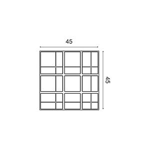 Декоративная панель из полиуретана Orac Decor W104 KILT