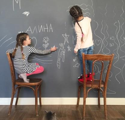 Siberia Chalkboard Paint Грифельная краска Серая