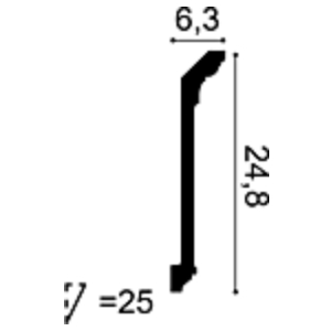 Карниз из полиуретана Orac Decor C308