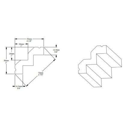 Карниз из полиуретана Orac Decor C602