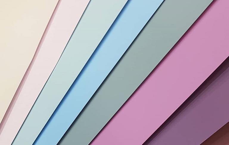 Образец цвета краски