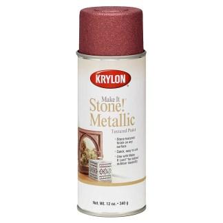 Krylon Make It Stone! Metalic Copper 8262 текстурная аэрозольная краска