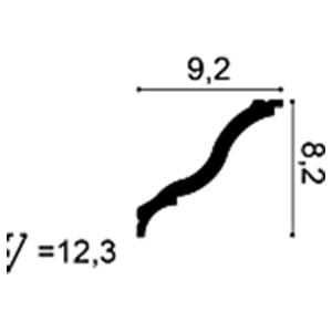 Карниз Orac Decor CB503 схема - фото