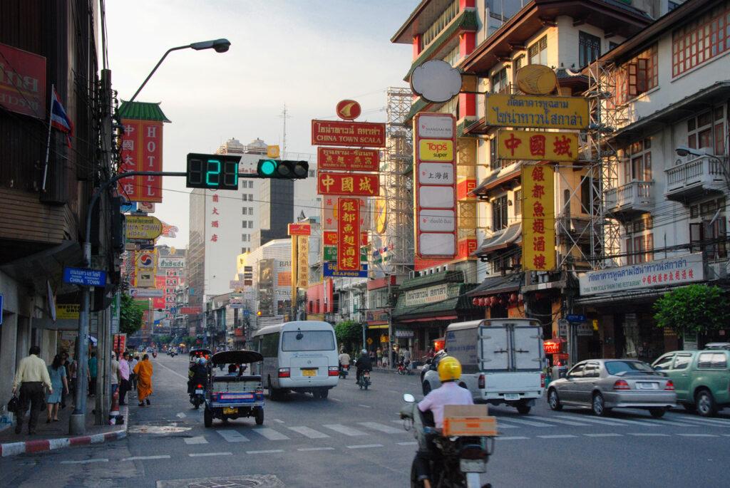 In Bangkok Chinatown