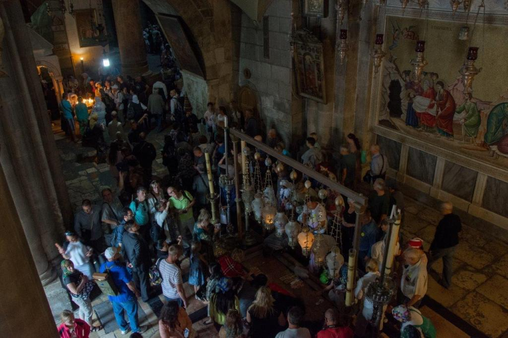 Via Dolorosa Jerusalem Church of the Holy Sepulchre